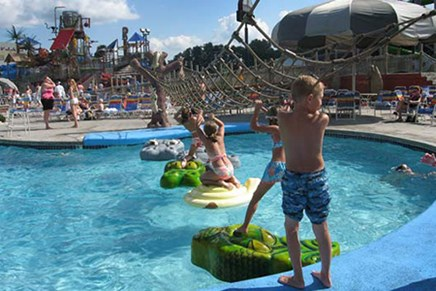 Kalahari Outdoor Water Park Wisconsin Dells